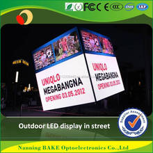 iron cabinte rgb display video or pictures dip p16 led video wall