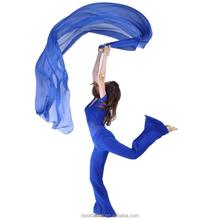 BestDance high quality belly dance chiffon silk veil women belly dancing veil big shawl veil OEM