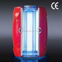 Professional solarium led stand up tanning beds