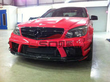 08-11 Black Series Mercedes Benz C63 body kit Made from Portion Carbon