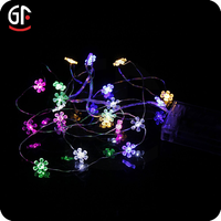 Garden Decoration Battery Operated Christmas Star Outdoor Thanksgiving Lights