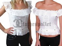 Ladies Embroidered Off Shoulder Top