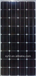 140W high efficiency monocrystalline solar panels TUV, IEC, ROHS, CE, FCC certified