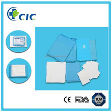 Disposable nonwoven surgical Delivery pack