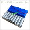Li-ion battery pack 11.1V 17Ah 18650 for power supply