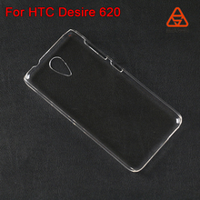 For HTC Desire 620 plastic color phone case crystal clear/ transparent mobile phone cover for HTC desire 620G