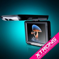 """10.4"""" Roof Mounted / Flip Down Car DVD Player"""