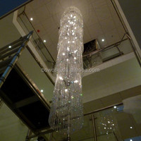 lustres modernes,crystal centerpieces home stairs pendant light