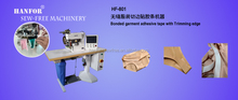 Hot air Seamless adhesive Tape sticking and briefs cutting Machine HF-801
