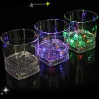 Promotional Plastic Flashing LED Light Beer Cup Mug