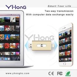 2015 hot new high-speed mobile phone 64gb usb flash drive in dubai for apple iphone 6/plus otg usb flash drive