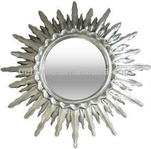 Antique PU wall mirror, wall mirrors decorative
