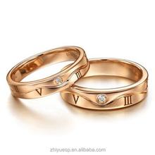 2015 fashion gold jewelry true love wedding ring