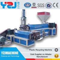 Cost of plastic recycling machine with CE approved