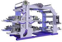 Flexo non woven fabric printer