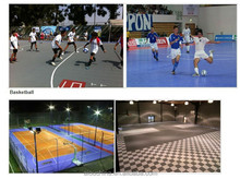 Wholesale cheap plastic indoor playground sports flooring