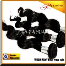 Fayuan 100% virgin no tangle AAAAAA hot selling indian remy hair wholesale