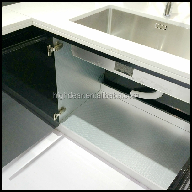 Aluminum Kitchen Sink : High gloss aluminum faced plywood for kitchen sink cabinet prices