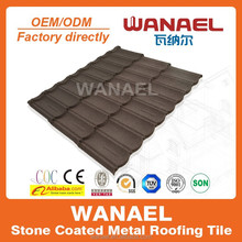 Light Weighted Colorful Stone Coated Metal Roofing Tile---1170*420mm---Interlocking