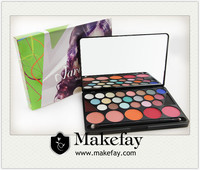 Wholesale 28 color eyeshadow & blush palette professional makeup kit