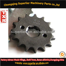 Professional produce gears and sprockets,CG 150 KS MixES 16T sprocket,420 and 428 best motorcycle chain