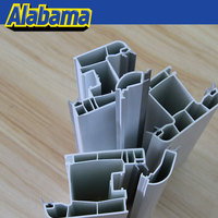 High grand white upvc window glazing bead saw profile, best price plastic profiles sample product profile