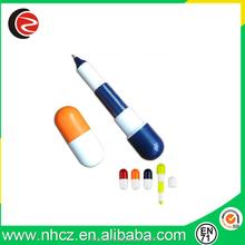 Colorful Mini Pill Shape Promotional Ball Pen
