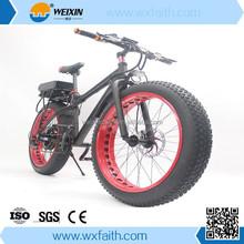 Fashion Seaside Speed Mountain bike with fat tire 26*4