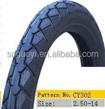 high quality motorcycle tire 2.50-14
