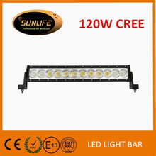 Factory low price 19.6'' 120W LED light bar, 8650lm combo led light strip 4x4 accessories led auto parts