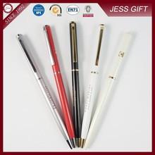 Best selling hotel pen slim cross metal pen for promotion