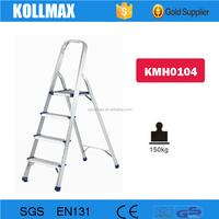 Fashion Style Lightweight Aluminium 4 steps Household Ladder