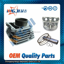 Motorcycle Parts Motorcycle Engine Parts Chinese motorcycles Qingqi Suzuki GS150 cylinder kit 62mm
