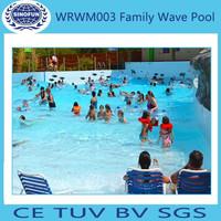 2015 artificial Wave Pool swimming pool wave machine