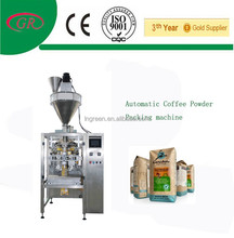 Fill and seal machine coffee pod