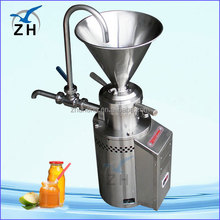 peanut butter colloid mill machine production line vertical sesame paste colloid mill for sale