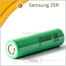 New green Original 18650 Samsung 25R 2500mAh Li-ion High Discharge rate Battery Cell (20A dIscharge)