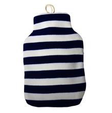 2015 wholesale OEM customed faux fur soft stripe plush hot water bottle cover BS1970:2012