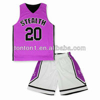 2014 custom sublimation basketball jersey uniforms made in china