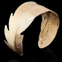 Hot Selling Leaf Design Upper Arm Cuff Bracelet