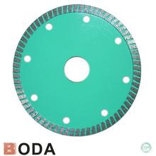 profesional de diamante de corte del disco para concreto y mampostería