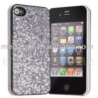 Cell phone accessories phone case Glitter Crystal hard case for iphone 4 4s