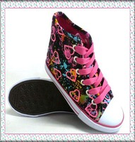 2015 New Style Flat Women Spring Figured Cloth Canvas Vulcanized Shoes