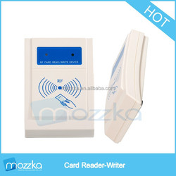 RFID card reader writer with USB contact Interface from Shenzhen Manufacturer Mozzka