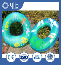 Fine workmanship utility model designed swimming ring for water floats
