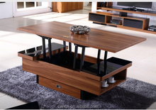 High quality multifunction living room furniture stylish wooden MDF lift top coffee table