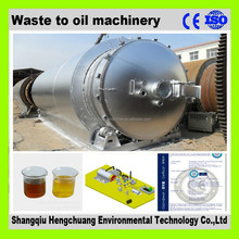 24h non stop waste tyre recycling plant with 50% high oil output with CE certificate