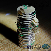 Used Phone Disc 12x3mm Magnet Neodymium