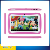 "2015 Hot sale and New Mini Kids Tablet PC Android 4.4 OS 7"" inch Smart PC Tablet 7 inch kids tablet pc"