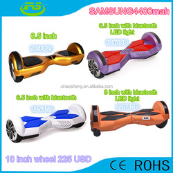 2015 X.A.S Factory price Smart balance Two wheel self balancing scooter